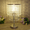 LED crystal lamp living room bedroom bedside lamp crystal Desk Lamps