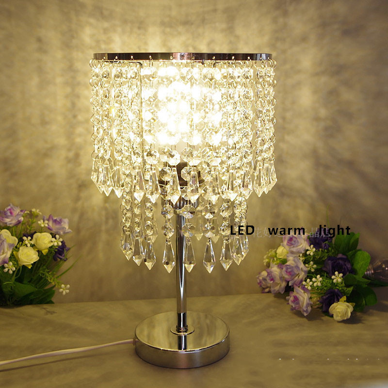 Online Buy Wholesale crystal desk lamps from China crystal desk – Crystal Desk Lamps