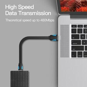 Image 2 - Vention Mini USB kablosu USB Mini usb hızlı şarj kablosu için dijital kamera HDD MP3 MP4 oynatıcı tabletler GPS