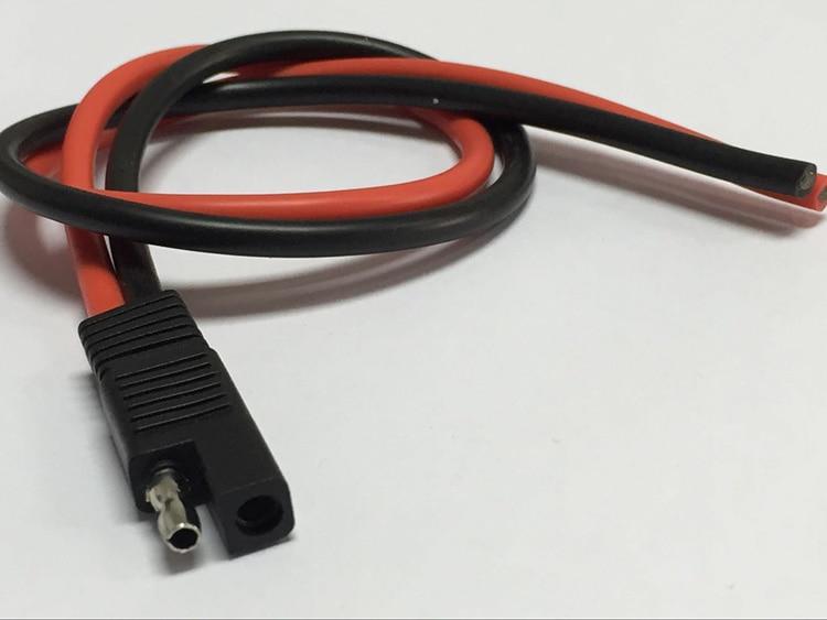 Fabriksförsäljning! SAE Quick Connector 50A / 3239 / 10AWG Kopparledning DIY förlängningskabel för bilförstärkare