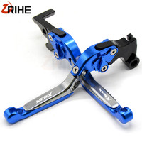 XMAX Motorcycle aluminum Adjustable brake clutch levers For Yamaha X MAX X MAX 125 250 300 400 X MAX400 accessories