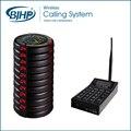 Sistema de Localización Inalámbrica de largo Alcance Tabla Buzzer Sistema de Llamada para el Restaurante CTP400
