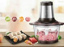 Maszynki do mięsa wykorzystuje elektryczny szlifierka ze stali nierdzewnej do rozdrabniania mielonej i smażonej kapusty z czosnkiem capsicum nowość