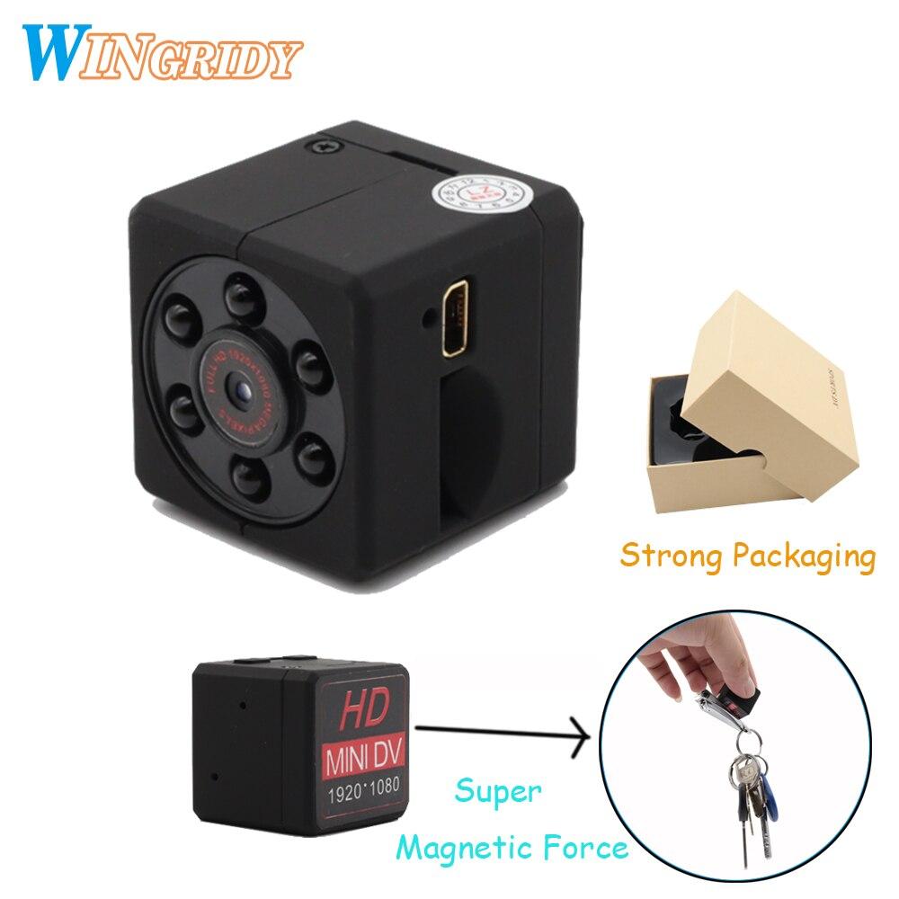 Original mini camera 2018 newest MD18 Endoscope HD 1080P Infrared Night Vision Mini Camcorder Motion Detection DV Video sq11 MINI