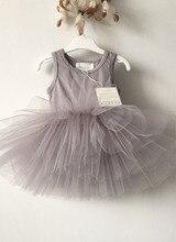 Smooth   Fluffy Baby Girls Dress kids dresses for girls tutu summer Princess  Costume wholesale baby 7b4911592ee0