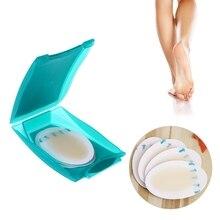 OOTDTY 4Pcs Foot Care Skin Hydrocolloid บรรเทาพลาสเตอร์ BLISTER Patch Heel Protector Foot Care TOOL ใหม่