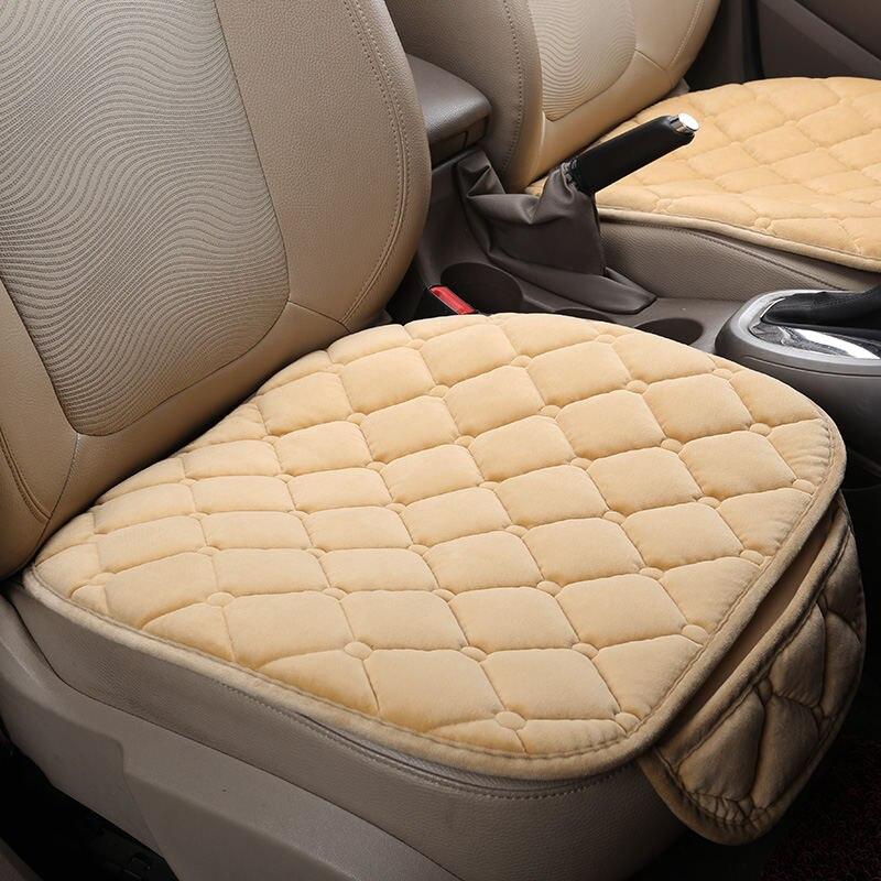Winter Plush Car Seat Cover Cushion For Renault Scenic Fluence Latitud Koleos Laguna Megane cc Talisman Car pad