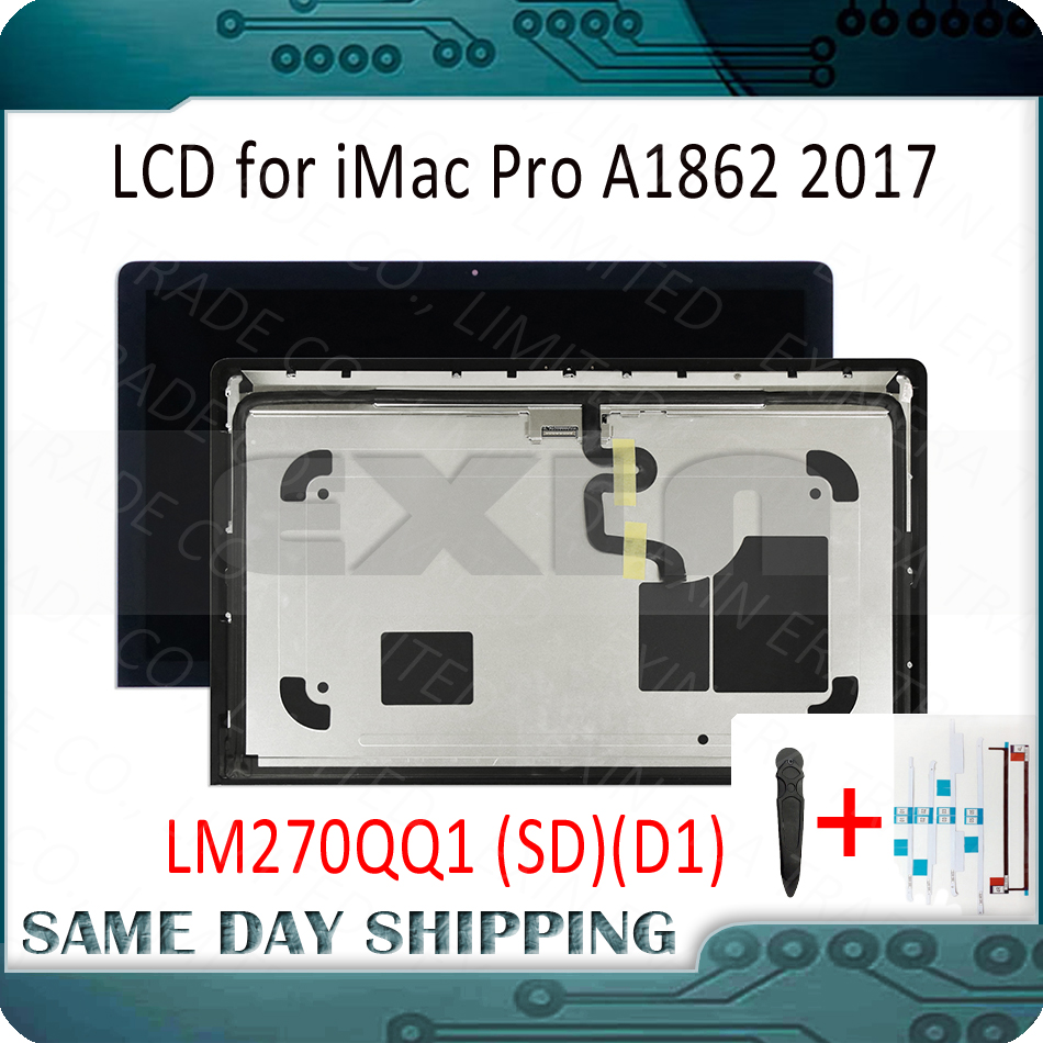 New for iMac Pro 27 A1862 Retina 5K LCD Display Screen Full Complete LCD Assembly LM270QQ1