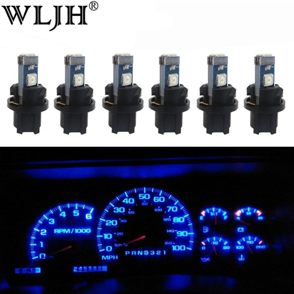 LED BULB 12V 5 LUMEN T10 W2.1x9.5D BLUE AUTO CAR DASHBOARD PANEL LIGHT LAMP MOTO