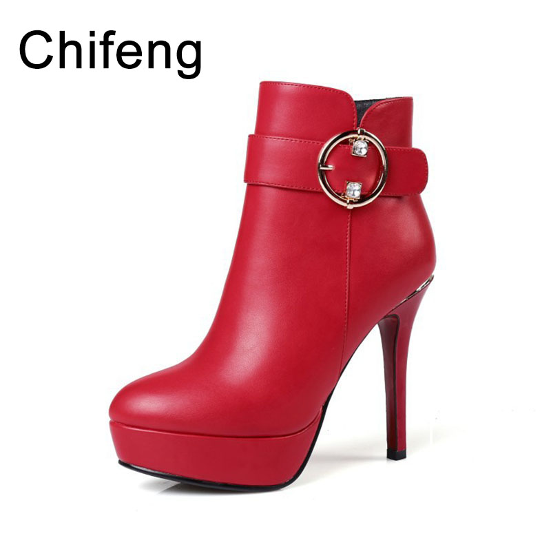 ladies boots women shoes ankle boots for womens winter leather boots women's red and black high heeled boots armoire hot sales black yellow red brown gray flats women slouch ankle boots solid ladies winter nude shoes aa 3 nubuck
