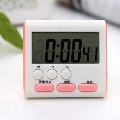 The kitchen timer reminders Is the countdown clock Electronic digital display screen 8 7 3 2cm free shipping in Kitchen Timers from Home Garden