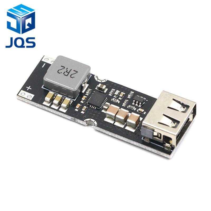Single Cell Lithium Battery Boost Power Module Board 3.7V 4.2V Liter 5V 9V 12V USB Mobile Phone QC Fast Charge QC2.0 QC3.0