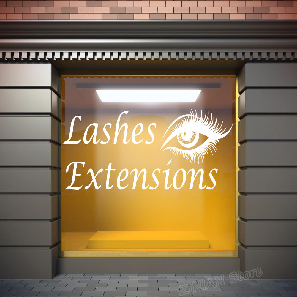 Eyelashes Extensions Lashes Eyebrows Brows Beauty Salon Wall Decor ...