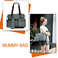 Baby Bag Diaper Maternity for Mom Nappy Mother Changing and Mummy Fashion brand Designer to stuff multifunctiona