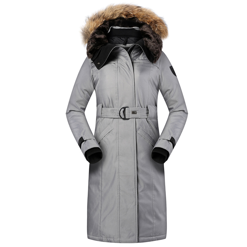 Online Shop New Ladies Extreme Parka She-ra Detachable Fur Hooded ...