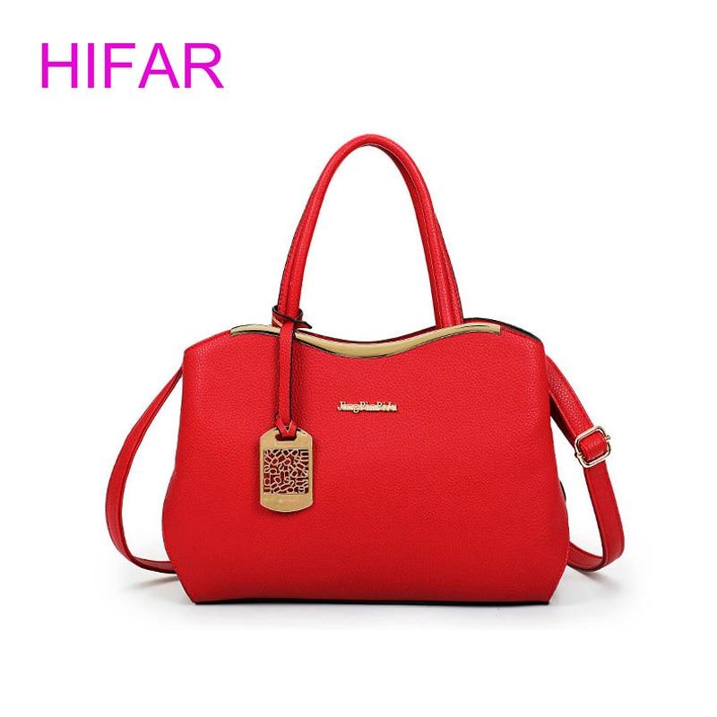 High Quality Pu Leather Handbag Women Bag 2017 New Fashion Tote Bag Designer Handbags Ladies Hand Bags Black Women Shoulder Bags