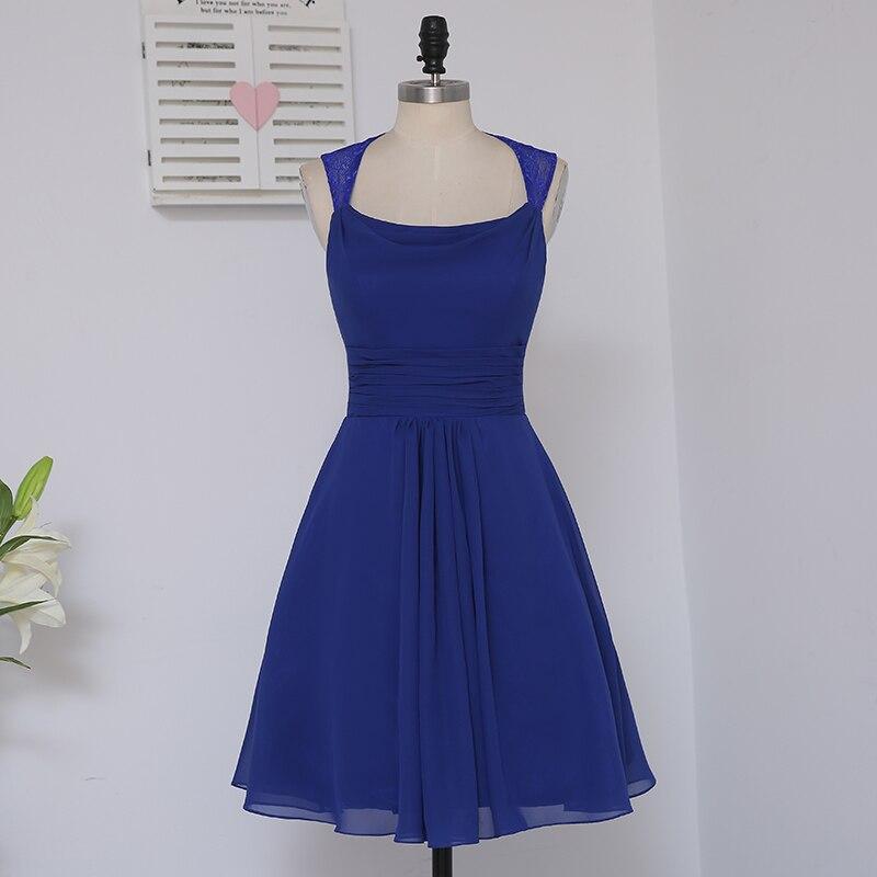 HVVLF 2019 Pigūs nuotakos suknelės iki 50 A linijos trumpo Mini - Suknelės vestuvėms - Nuotrauka 2