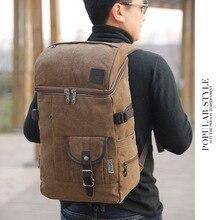Large Capacity Man Multifunctional Travel Bag Luggage Vintage Canvas Backpack Laptop Men Versatile Bags Rucksack