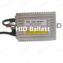 Polarlander 2pcs Fast Bright Slim Xenon Ballast AC Electronic Ballast F5 55W HID Ballast Auto Headlight DLT HID Ballast