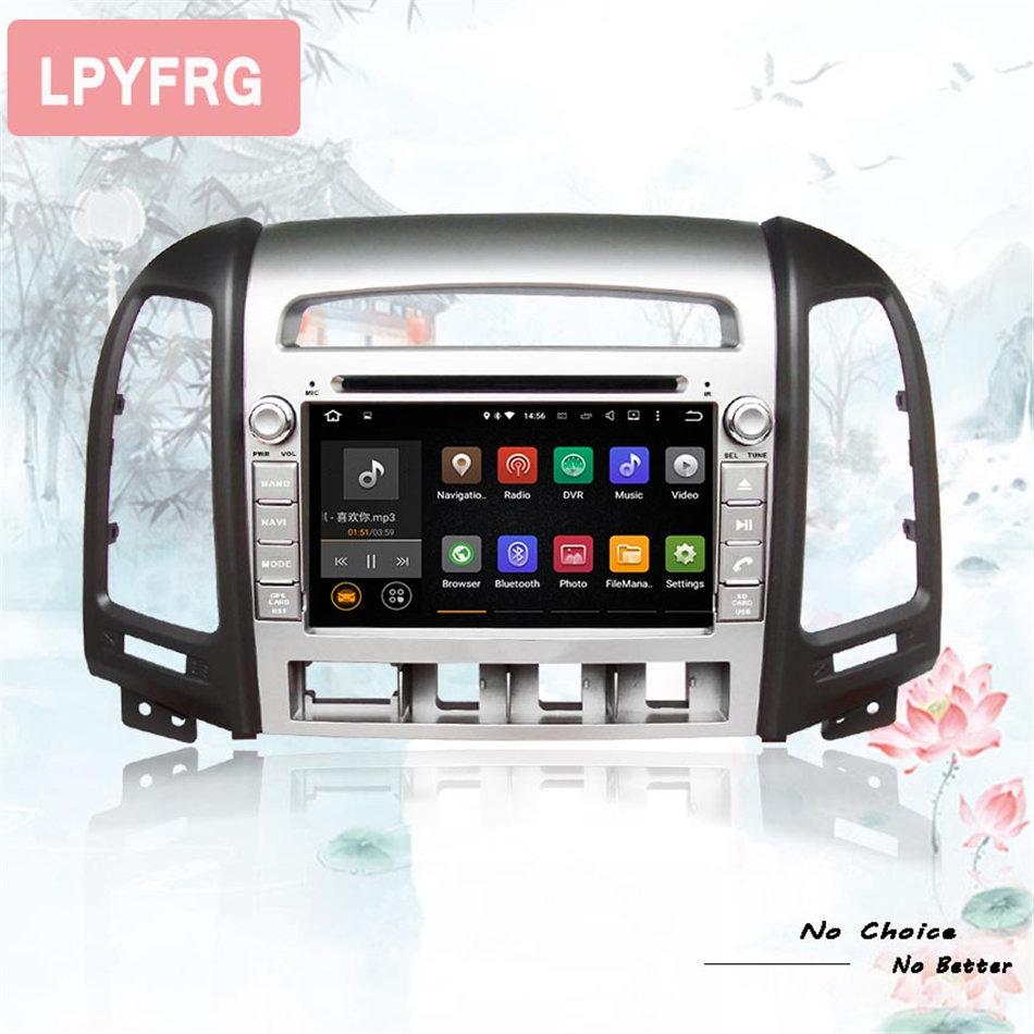 Seicane 2 Din Android Dvd Player Bluetooth Gps Navigation Radio For Hyundai Mp3 01 Wiring Diagram 1024600 80 Car Santa Fe Santafe