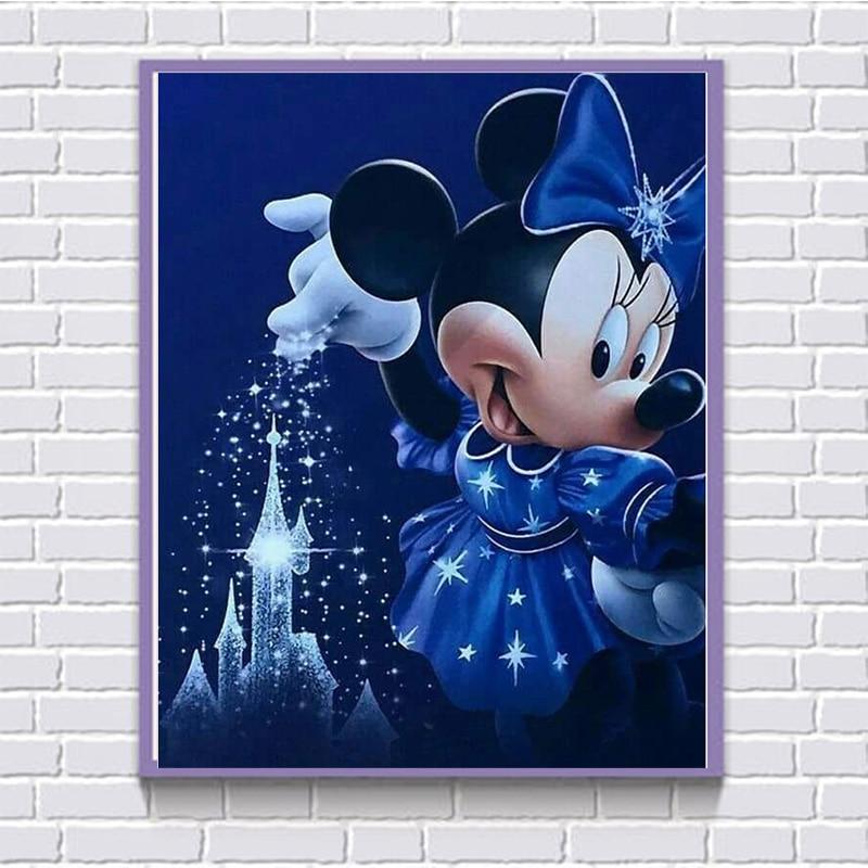 Full Square Diamond 5D DIY Diamond Painting Cartoon 3D Embroidery Cross Stitch Mosaic Home Decor Mural Child Gift F58