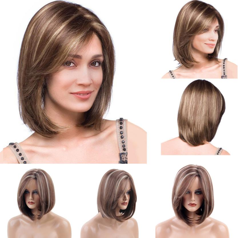 Short Wigs For Women Natural Fashion Curly Wig Women Wigs Female Black Fashion Short Hair African Hair Wig Curly hair A17 skyway s01804006 page 6