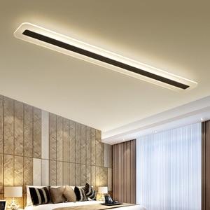 Image 1 - 220V פשוט מודרני LED תקרת מנורת מינימליזם תקרת אורות Creative סלון מסדרון אולם LED מנורה