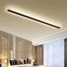 220V prosty i nowoczesny LED lampa sufitowa minimalizm lampy sufitowe kreatywny salon korytarz hall LED lampa