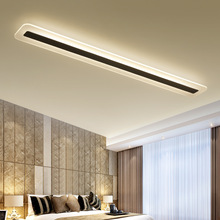 Lámpara de techo LED de 220V, sencilla y moderna, luces de techo minimalistas, creativa, para sala de estar, pasillo, lámpara LED