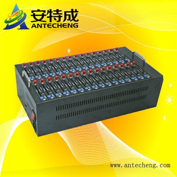 SMS Marketing bulk sms sending device Wavecom Q24plus 32 Ports GSM GPRS Modem Pool USB Interface