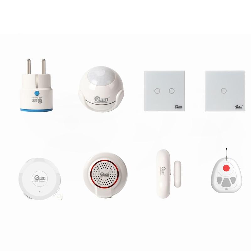 NEO Coolcam Z Wave Plus 916MHZ Or 908.4MHZ Or 869MHZ Smart Sensors цены