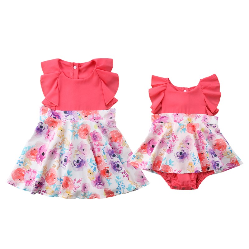 foto de Toddler Big/Little Sister Girls Matching Tutu Dress