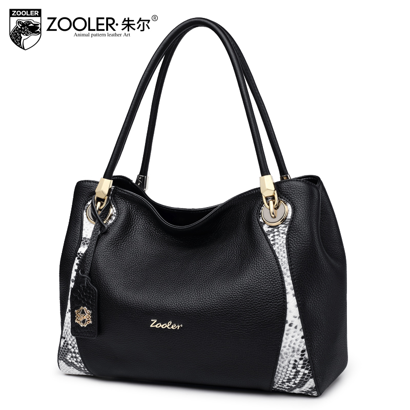 ZOOLER Genuine leather bags Fashion Women Messenger Bags Handbag Bag Lady Crossbody Shoulder Bags Female Handbags #8188 zooler lady handbag women cowhide leather handbags europe and america style genuine leather bags fashion menssenger shoulder bag