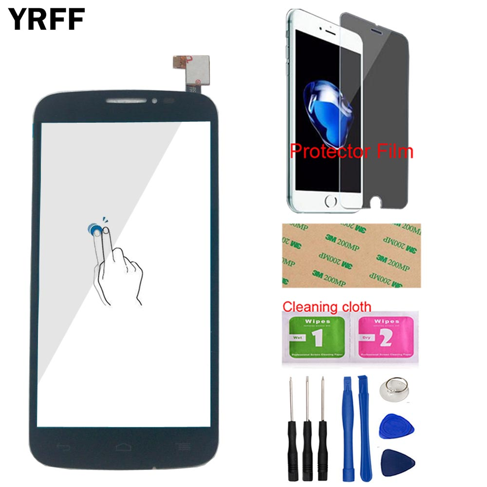 Image 3 - Touch Screen Panel For Alcatel One Touch Pop C7 7041 OT 7041D 7041X OT7040D 7040E 7041D Touch Screen Digitizer Protector Film-in Mobile Phone Touch Panel from Cellphones & Telecommunications