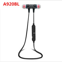 ON SALE 100 Original Awei A920BL Smart Wireless Bluetooth 4 0 Sports Stereo Earphone Headphone Noise