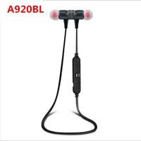 ON SALE 100 Original Awei A920BL Smart Wireless Bluetooth 4 0 Sports Stereo Earphone Headphone Noise