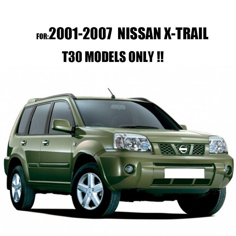 Accessoires adaptés pour NISSAN X TRAIL T30 2001 2002 2003 2004 2005 2006  2007 arrière coffre plateau BOOT LINER CARGO tapis de sol XTRAIL dans de  sur