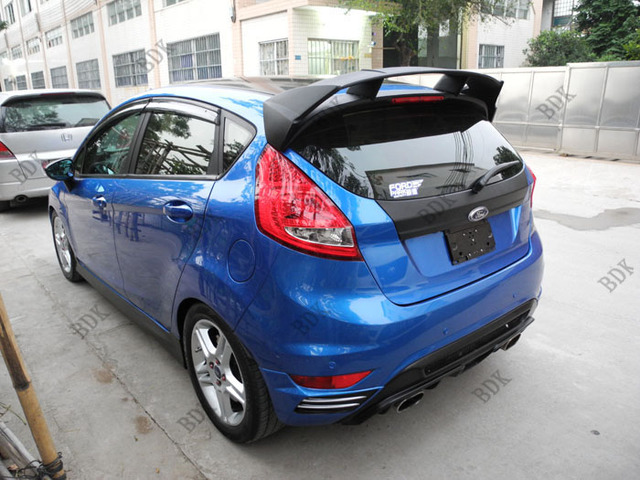 Fit For Ford Fiesta Rs 09 12 Abs Rear Spoiler Wing Paint It At