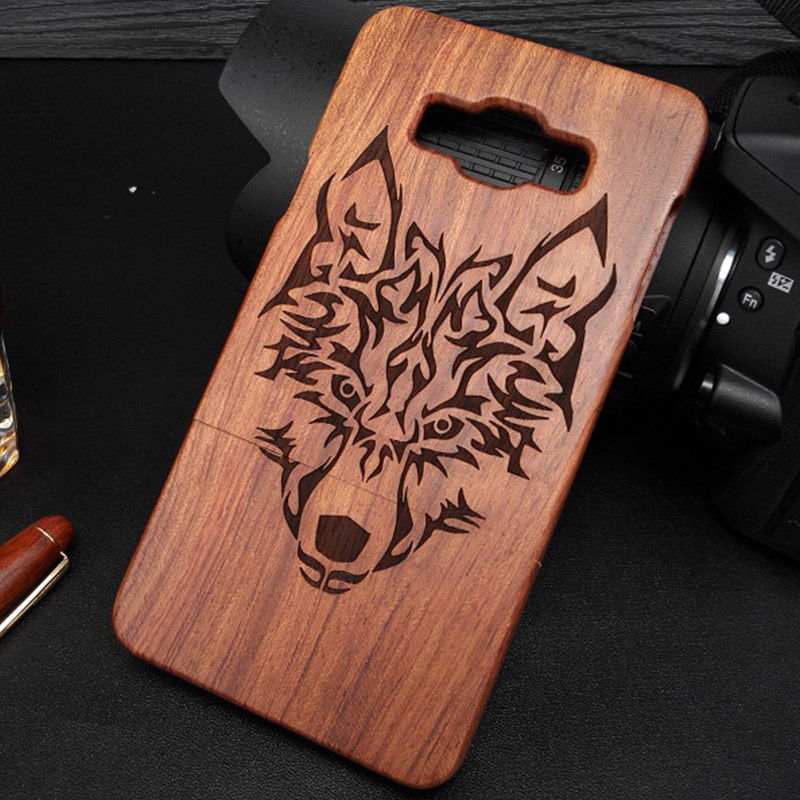 LTS For Samsung A3 2015 Case 100% Original Wooden Phone Housing Back Cover For Samsung Galaxy A3 A5 A7 Fundas Natural Wood Cases ...