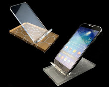5pcs New arrival Phone display stand 6 colors fashion Mobile cell phone holder high quality Digital product jewelry display rack цена и фото