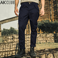 AK CLUB Brand Men Pants Vintage Military Pants M65 Field Army Chino Pants 100% Cotton Full Length Straight Casual Pants 1512059
