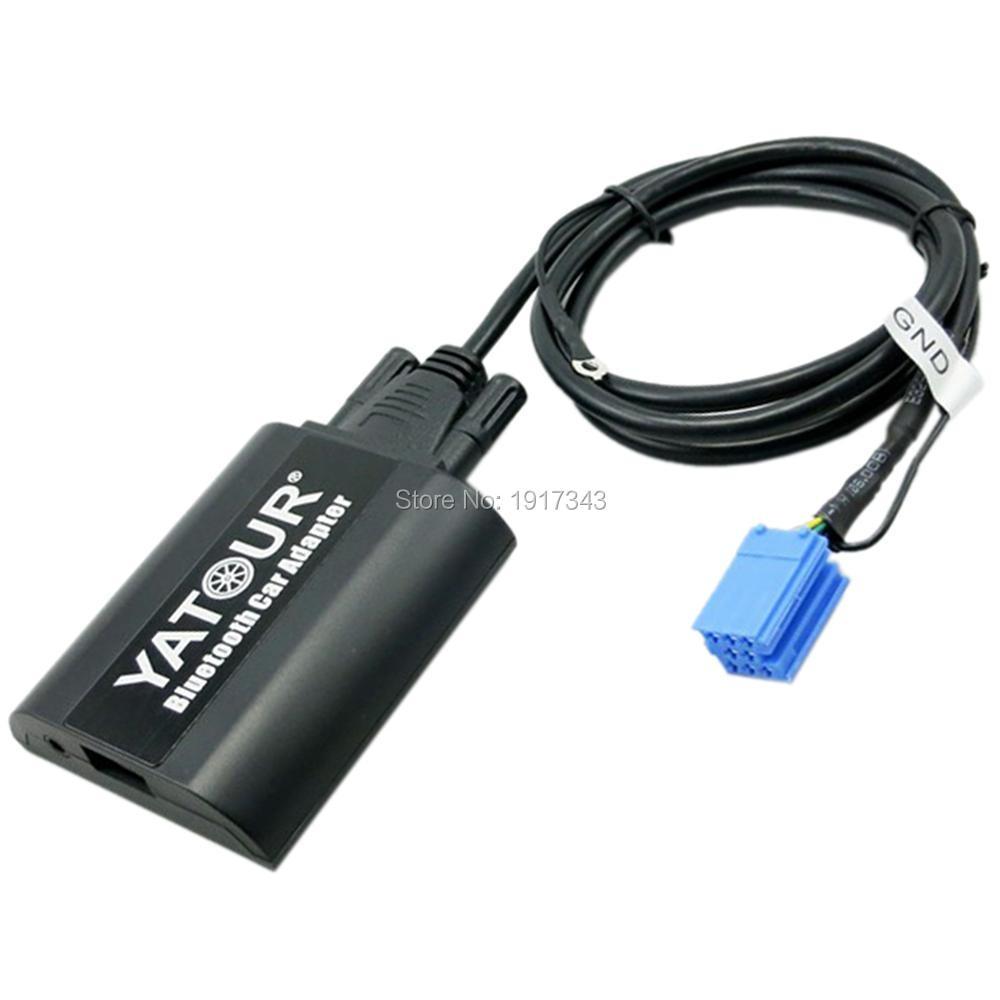 Yatour Bluetooth Car Adapter Digital Digital CD Changer CDC - Ավտոմեքենաների էլեկտրոնիկա - Լուսանկար 4
