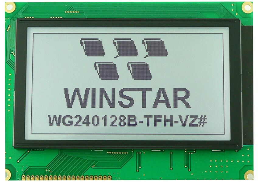 WG240128B WINSTAR 5V LCD display 240x128 screen backlight Graphic LCD new and original new and original lcd lm32k10