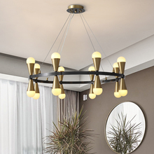 Nordic Lamp Lights Modern Chandelier In The Living Room Bedroom Dining Room Chandelier Lighting Decor LED Copper Chandeliers macaron nordic chandelier lighting solid wood led chandeliers 3 6 8 lights colors optional for living room dining room bedroom