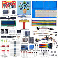 SunFounder Super Starter Kit de aprendizaje V3.0 para Raspberry Pi 4B 3B + 3B, 2B B + A + Zero y libro de instrucciones de 123 páginas
