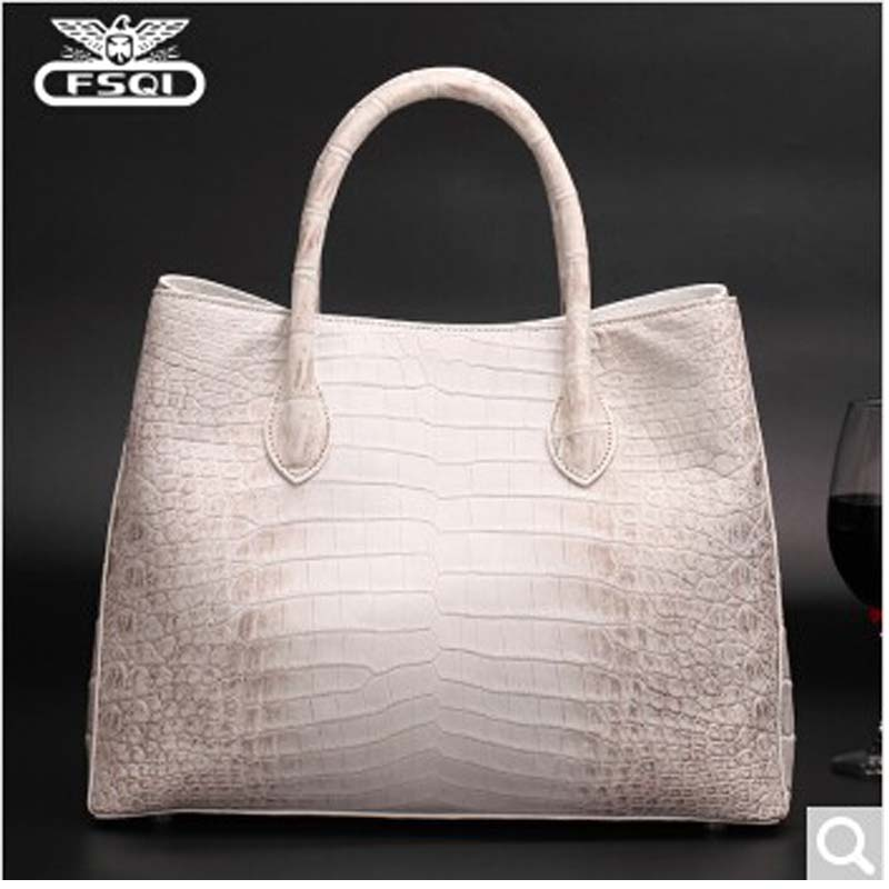 fasiqi Crocodile skin women handbag single Shoulder Bag female bag new personality