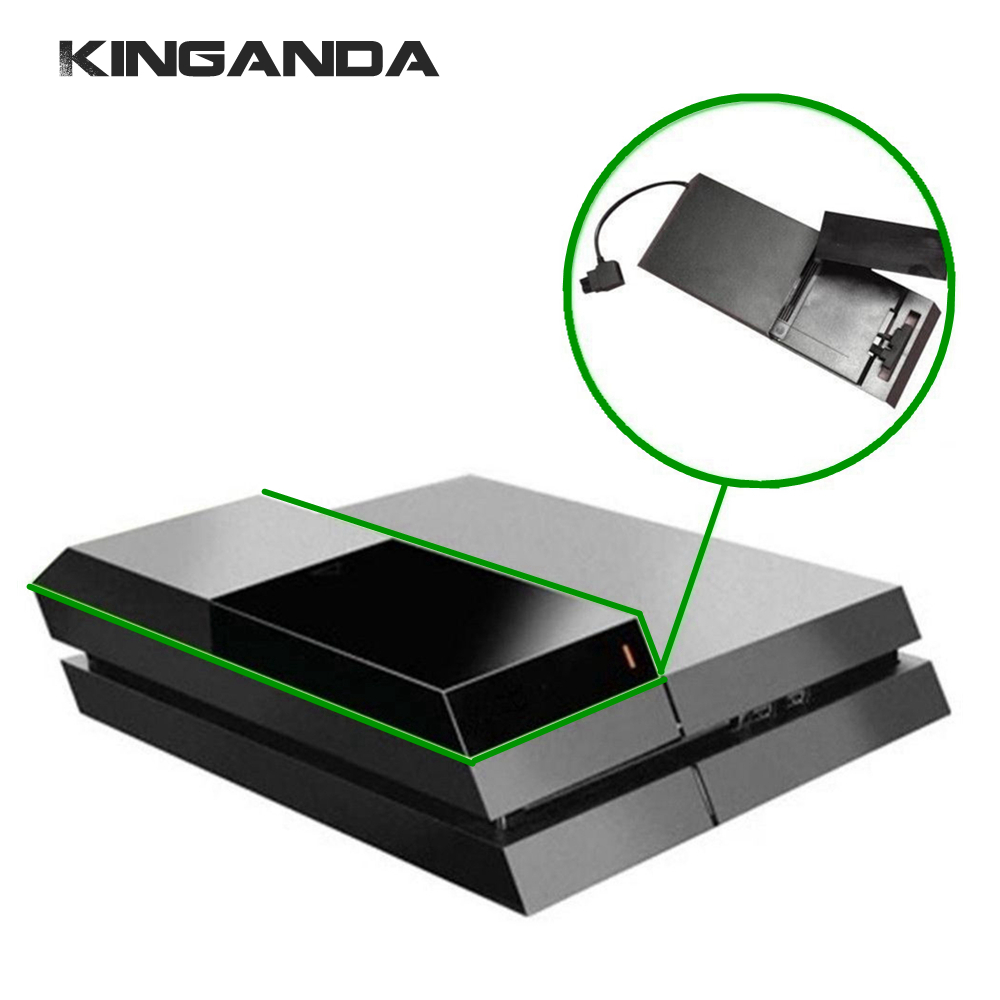 PS4 Data Bank External Hard Disk Drive Case SATA HDD Box Extender Enclosure Case Support 3.5inch HDD for Sony PS4 PlayStation 4
