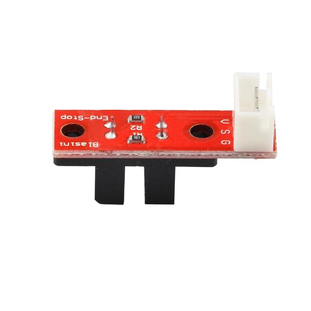 6 sztuk/partia Endstop optyczny ograniczenie regulacji światła przełącznik z 3 pinowym kablem do RAMPS 1.4 części akcesoria do drukarek 3D
