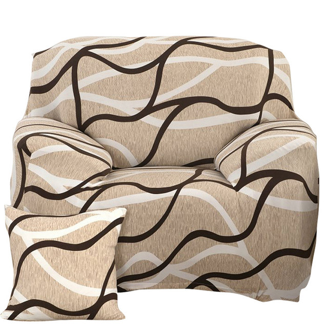 Plush Flexible Stretch Sofa Cover Big Elasticity Couch Cover Slipcover Furniture Protector Solid Colors Sofa Covers 1/2/3/ Seat