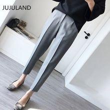 8a895b2fc9 Plus tamaño pantalones formales para mujeres Oficina estilo de señora ropa  de trabajo Pantalones rectos Mujer